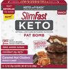 Keto fat bomb caramel nut clusters snacks - Product