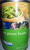 cut green beans - Producto