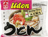 Udon japanese style noodles with soup base - Producto
