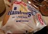Enriched hamburger buns - Produit