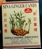 Sina ginger candy net wt - Produit