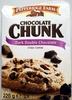 Chocolate Chunk Dark Double Chocolate Crispy Cookies - Produit