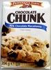 Chocolate Chunk Milk Chocolate Macadamia Crispy Cookies - Prodotto