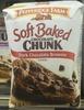 Soft Baked Chocolate Chunk Dark Chocolat Brownie - Produit