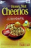 Gmills hny nut cheerios sweetened whl grn oat cereal - Product