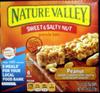 Peanut Sweet and Salty granola bars - Product