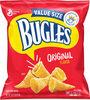 Original flavor crispy corn snacks - Product