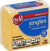 American Pasteurized Prepared Cheese Product Singles - Product