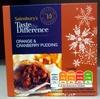 Orange & Cranberry Pudding - Prodotto
