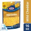 Shredded mild cheddar cheese - Produit