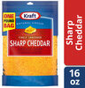 Shredded sharp cheddar cheese - Produit