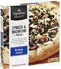 Rising Crust Spinach & Mushroom Pizza - Product