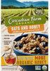 Organic oats & honey granola cereal - Produit