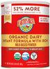 Organic® Infant Powder Formula with Iron - Producto