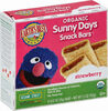 Sunny days strawberry snack bars - Product