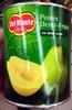 Del monte, halves pear - Produit