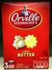 ORVILLE REDENBACHERS Light Butter Popcorn, 8.07 OZ - Product