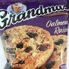 Grandma's Oatmeal Raisin Cookies 2.50 Ounce Plastic Bag - Product