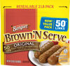 Brown 'n serve original fully cooked sausage links - Product