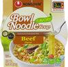 Beef flavor bowl noodle soup - Product