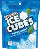 Ice cubes peppermint sugar-free gum - Produit
