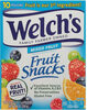 Mixed fruit snacks, mixed fruit - Product