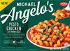 Microwaveable pesto chicken with romano cheese cavatappi pasta - Product