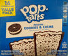 Pop tarts Frosted Cookies & Crème - Product