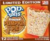 Pop tarts pumpkin pie - Produit