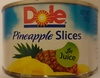 Pineapple slices in juice - Product