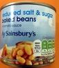 reduced salt sugar baked beans - Produit