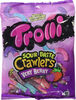 Sour Brite Crawlers Gummi Candy, Very Berry - Producto