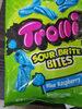 Trolli, sour brite bites chew candy, blue raspberry - Product
