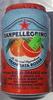Sparkling blood orange beverage with 16% orange juice and 3% blood orange juice from concentrate, aranciata rossa - Product