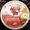 Creamy mozzarella spreadable cheese wedges - Product