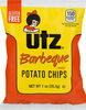 Barbeque flavored potato chips - Product