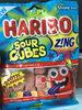 Sour cubes gummi candy, sour - Product
