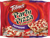 Pepperoni party frozen pizza - Product
