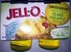 Jell-o Island Pineapple Gelatin Snacks - Product