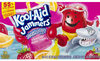 Kool aid jammers sharkleberry fin flavored drink - Producto