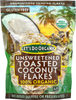 100% organic unsweetened toasted coconut flakes - Producto