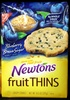 Nabisco newtons fruit thins cookies blueberry brown sugar cafe crisps1x10.500 oz - Product