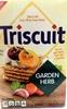 Nabisco triscuit crackers garden herb 1x9 oz - Produit