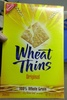 wheat thins crackers, original - Producto