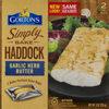 Simply bake haddock garlic herb butter fish fillets - Prodotto