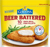 Beer battered fish fillets - Prodotto