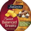 Sea salted roasted almonds natural cheddar cheese - Product