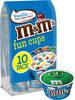 Mm's vanilla with chocolate swirl fun ice cream cups - Product