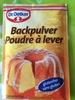 Backpulver Dr. Oetker - Prodotto