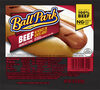 Beef hot dogs original length count - Product
